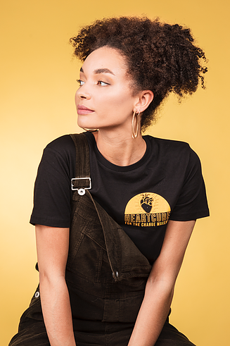 Change Makers tee (unisex) heartcure vegan fashion brand