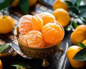 oranges in a bowl vitamin c