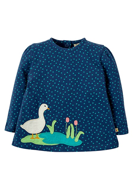 frugi easter duck, Connie Applique Top