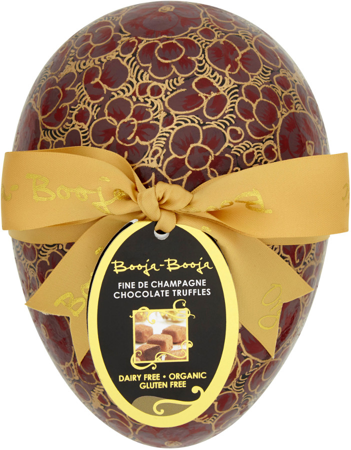 vegan easter gift ideas - egg, Booja Booja Large Champagne Truffle Easter Egg