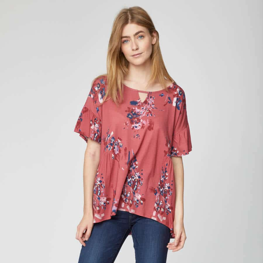 vegan spring fashion womens top
