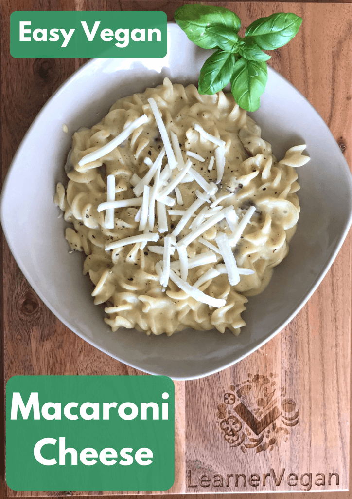 easy vegan macaroni cheese