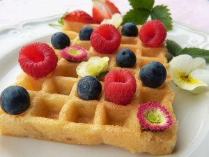 vegan waffles - Changing Habits As A New Vegan
