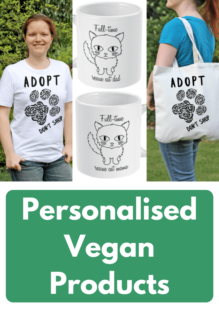 Personalised Vegan Products
