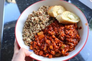 vegetarian-chilli-vegetarian-meal-ideas from ami rose recipe for kid blog post