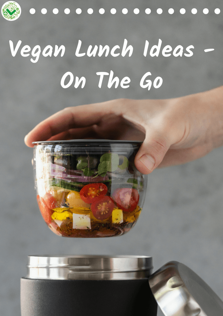 Vegan Lunch Ideas - On The Go