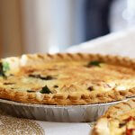 easy vegan quiche - with tofu