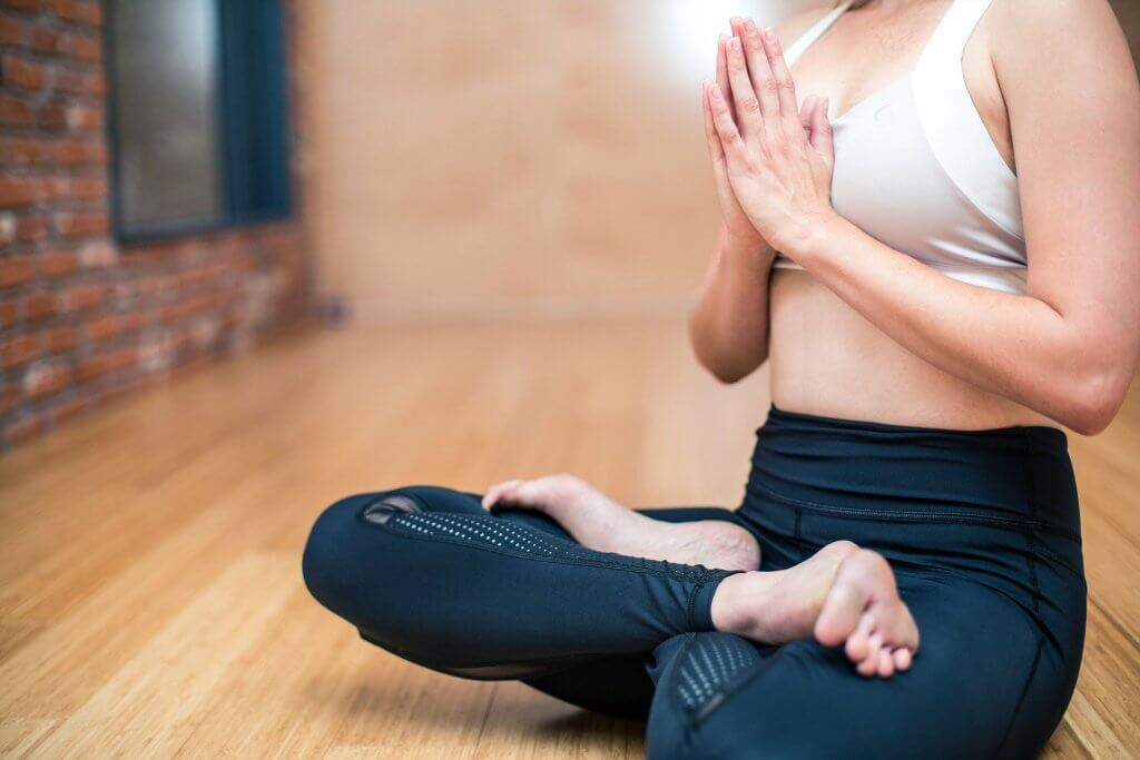 Going Vegan Through Coronavirus destress with yoga