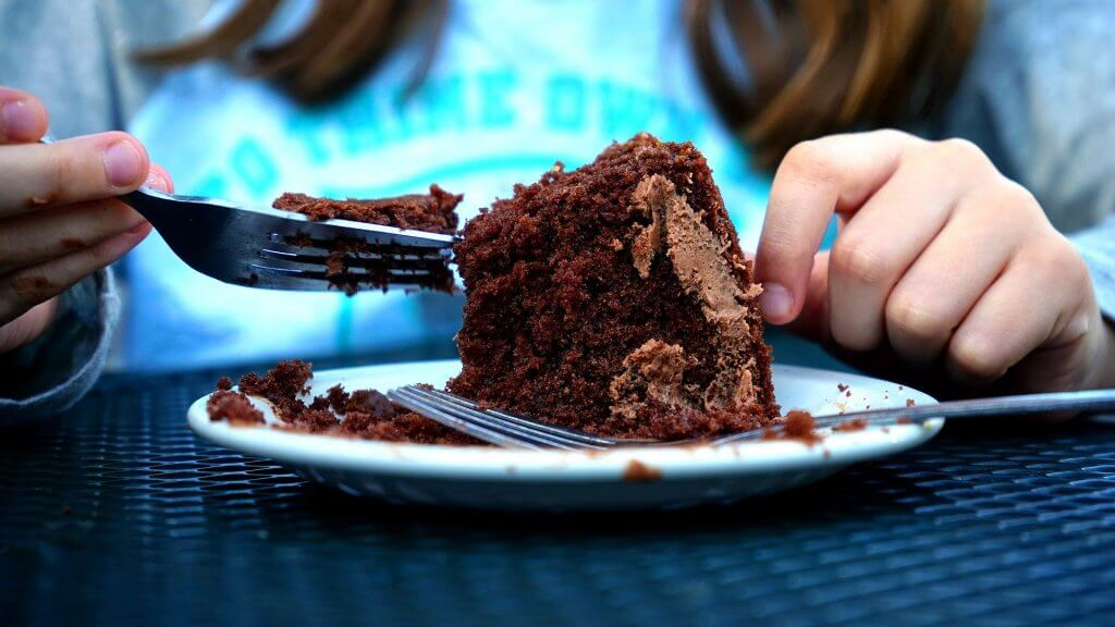 going vegan through coronavirus chocolate cake-1746435_1920