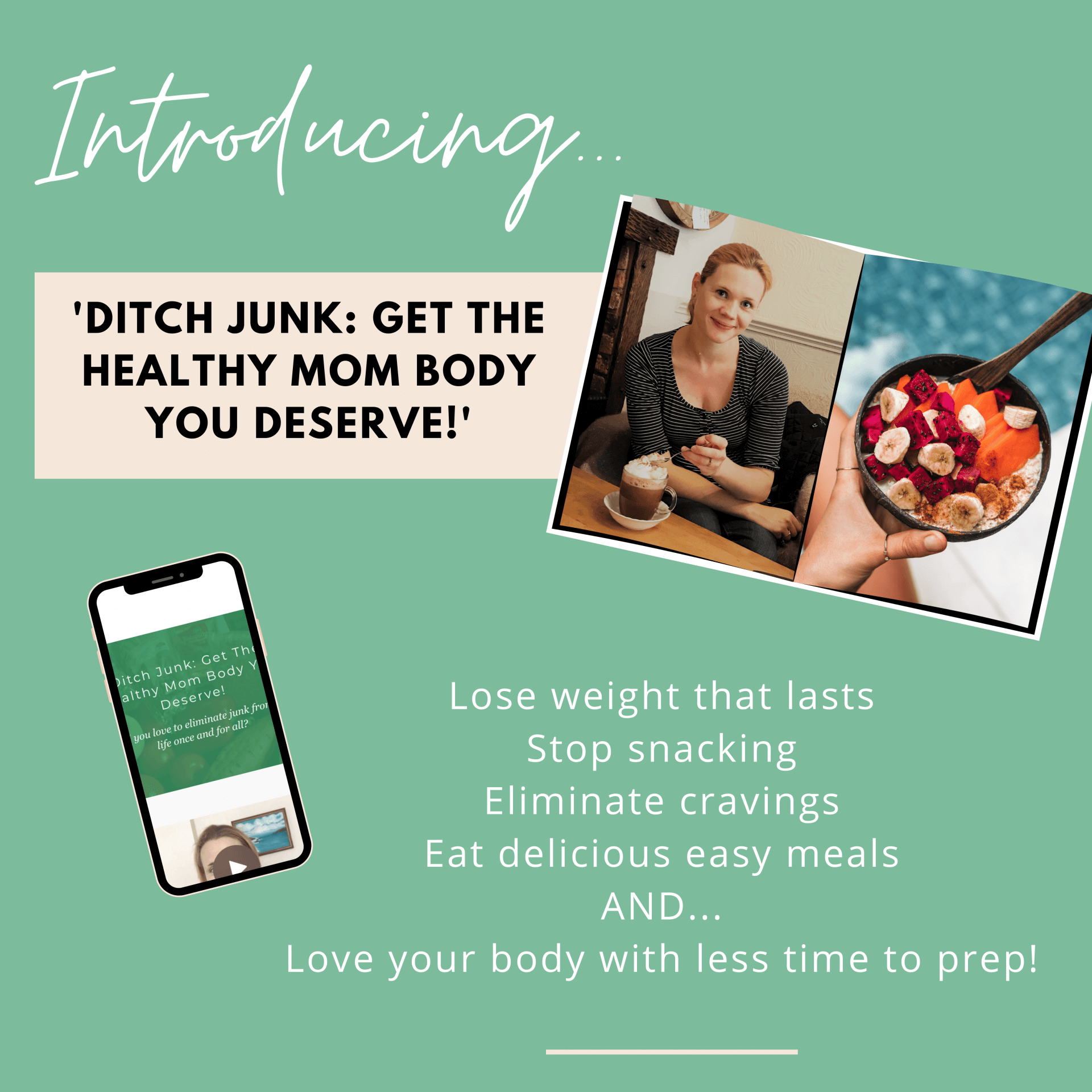 weight loss coaching for moms